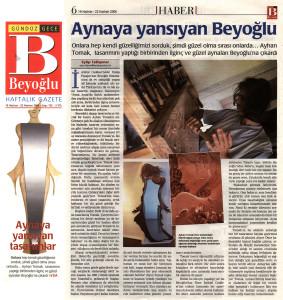 Beyoğlu Newspaper, 2006