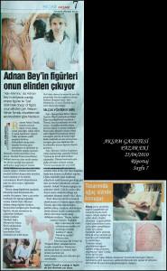 Akşam Newspaper, 2010