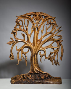 TREE OF LIFE, 87x70cm, Beech