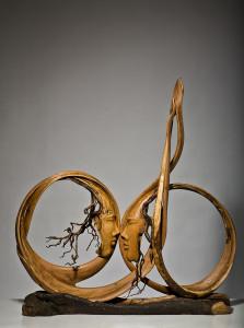 KARŞILAŞMALAR, 97x94cm, Kayın ve Zeytin Ağacı