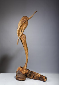 PINWHEEL, 93x44x23cm, Oak and Beech