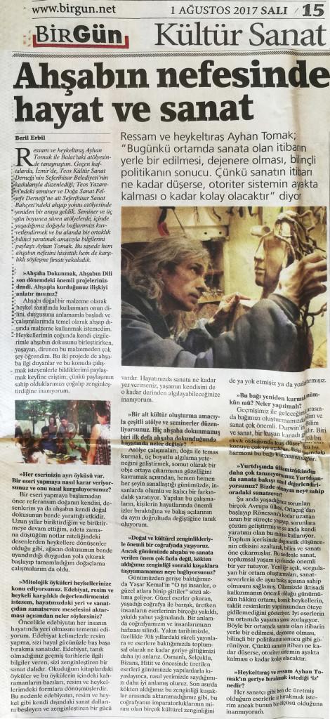 Birgün Gazetesi-2017