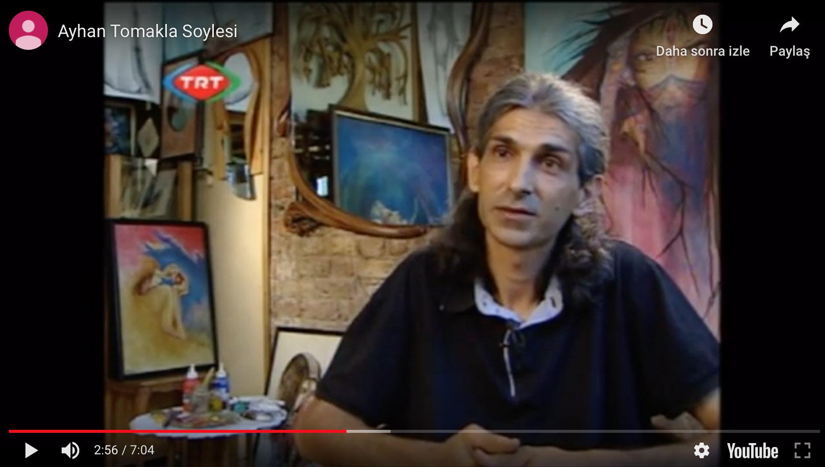 Ayhan TOMAK Söyleşi, TRT